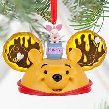 disney set of 3 winnie the pooh eeyore tigger piglet ear hat