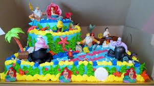 little mermaid birthday cake walmart 3 cake birthday