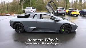 grey lamborghini murcielago 2007 lamborghini murcielago lp640 for sale youtube