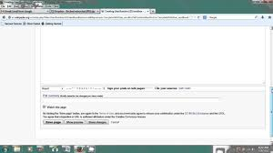 how to upload a file to wikipedia computer u0026 internet skills
