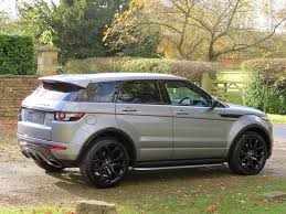 mini land rover used orkney grey metallic land rover range rover evoque for sale