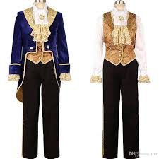 dropshipping beauty and the beast costumes prince adam
