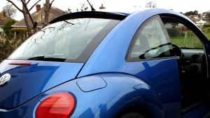 rear window hidden roof spoiler on a 2002 volkswagon beetle 1 8