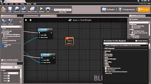 unreal engine 4 open door blueprint tutorial youtube
