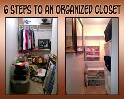 six steps to organize your closet in one weekend north texas kids