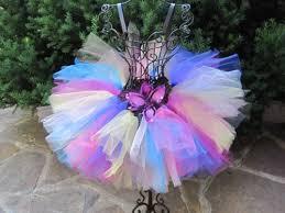 crochet elastic ribbon tutu skirt lots of colors toddlers 1 4 elastic waist