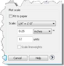 plot to a scale from model space autocad tips blog