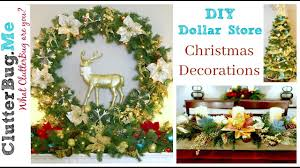 Christmas Decorations 2017 Diy Dollar Tree Christmas Decor Ideas For 2016 Youtube