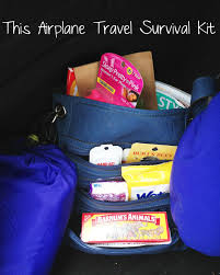 airplane travel survival kit great gift for overseas travelers