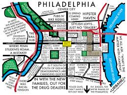 Map Store Philadelphia Neighborhood Culture Map Mug U2013 Urbane Map Store