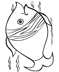 free fish coloring pages for kids coloring home