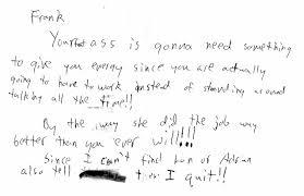 resignation letter bad resignation letter due to mistreatment
