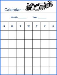 9 best images of kindergarten printable calendar month by month
