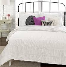 White Duvet Cover Queen Cotton Republic Textured Duvet Cover Sets With Regard To White Textured