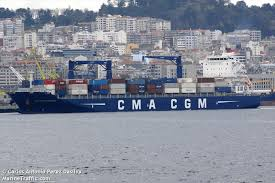 vessel details for cma cgm marseille container ship imo 9709207