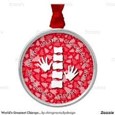 world s greatest chiropractor silver ornament chiropractic