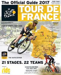 Tour De France Route Map by Official Tour De France Guide 2017 Australian Edition Ride Media