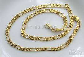 necklace gold chain design images 2018 brand new fashion 18 1 inch 18k gold plated 3 1 design men 39 s jpg