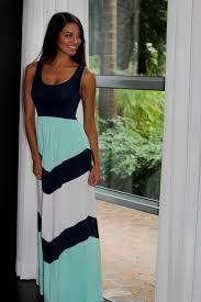chevron maxi dress navy and mint chevron maxi dress naf dresses