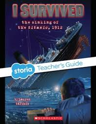 the sinking of the titanic 1912 i survived the sinking of the titanic 1912 teacher s guide by