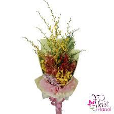 orchid flower arrangements hanoi orchid flower bouquet order online