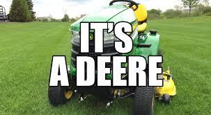 john deere x300 riding tractor youtube