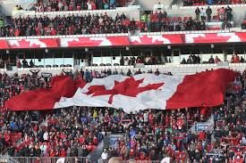 History Of Canadian Flag Waking The Red A Toronto Fc Community