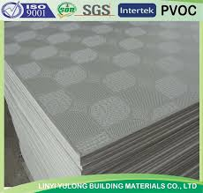 Vinyl Faced Ceiling Tile by Pvc Coated Gypsum Tiles Pvc Coated Gypsum Tiles Suppliers And