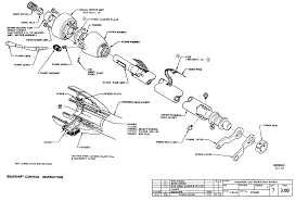 1956 chevy steering column wiring diagram 57 chevy steering column