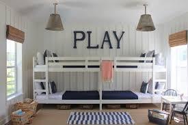 deco mer chambre decoration déco bord mer chambre enfant lits superposés bleu marine