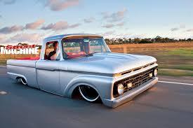 slammed nissan truck homebuilt slammed ford f100 pickup street machine