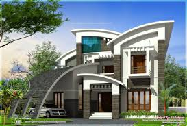 luxury ultra modern house design kerala home floor plans