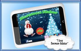 snowman maker free kids game android apps on google play