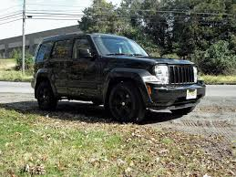 jeep liberty limited lifted jeep liberty blacked out image 289