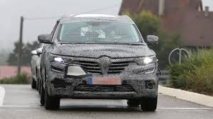 koleos renault 2015 2016 renault koleos spied showing new details