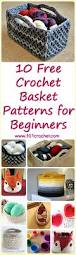 the 25 best crochet basket pattern ideas on pinterest crochet