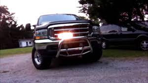 strobe light installation truck whelen csp 690 strobe lights installed on a ford super duty truck
