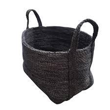 contemporary laundry hamper fair trade handmade jute laundry basket u2013 carson u0026 bird