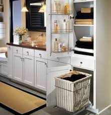 bathroom cabinet with built in laundry her makeover modern bathroom storage packed small bathroom smart