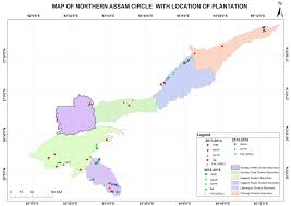 Circle Map Assam Project On Forest And Biodiversity Conservation Society