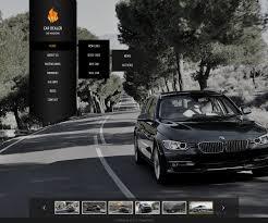 lexus car website website template 42086 car rental auto custom website template