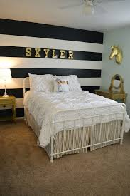 black and white bedroom wallpaper decor ideasdecor ideas black white and gold bedding 19