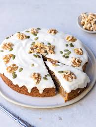 healthy vegan carrot cake with cashew icing healthyfrenchwife