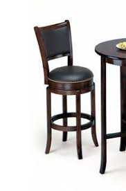 Bar Stool With Backrest Soft Leather Swivel Bar Stool With Leather Backrest In