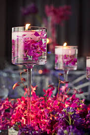 30 fuchsia u0026 pink wedding color ideas floating candles pink