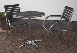 Garden Bistro Table Gorgeous Garden Bistro Table And 2 Chairs With Garden Bistro