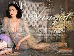 glamour friday dita von teese at home decor by christine