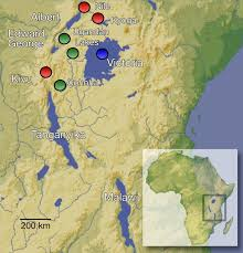 Africas Map by Africa U0027s Great Lakes Were Central To Human Evolution