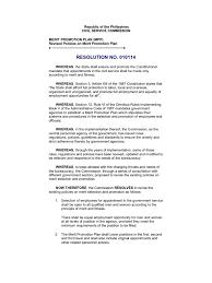merit promotion plan revised policies civil service employment