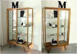 small curio cabinet with glass doors curio cabinet ikea elegant display cabinet amusing glass door